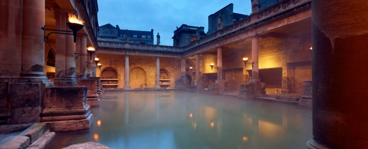 The Roman Baths, Bath England