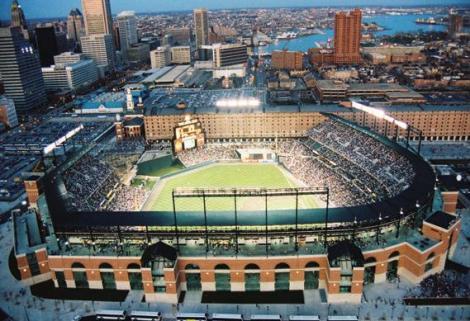 Camden Yards. Photo courtesy of Baseball-Fever.com