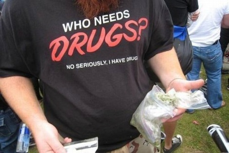 who-needs-drugs-t-shirt