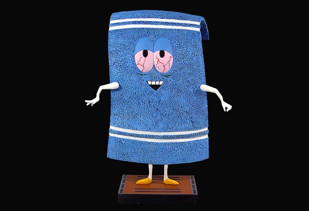 kiffendes handtuch