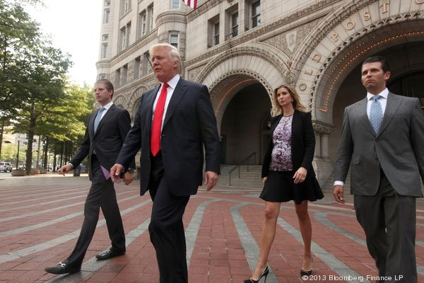The Donald and the Old Post Office, Courtesy of BizJournal.