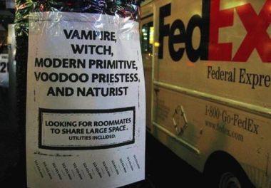 vampire roomate