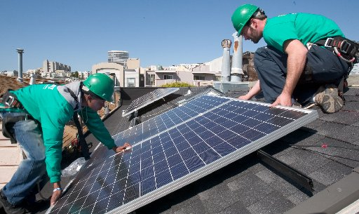 SolarCity residential installation