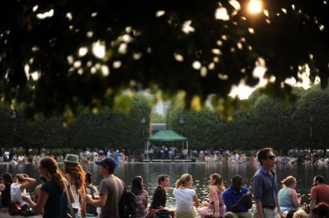 Jazz in the Garden. Photo via Washington Post.