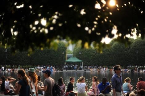 Jazz in the Garden. Photo via Washington Post.