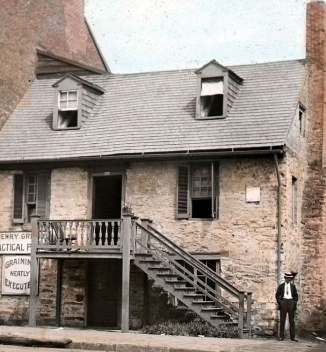 Old Stone House, circa 1890; courtesy of the National Park Service.