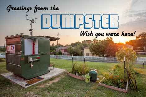 Photo courtesy of The Dumpster Project.