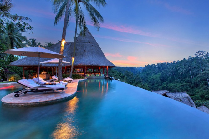 The Viceroy Hotel in Ubud, Indonesia
