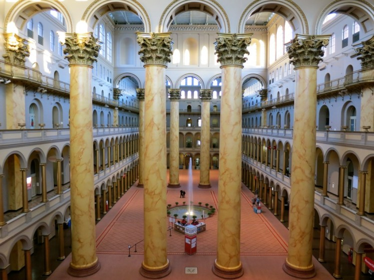 The National Building Museum is often cited for having the worlds tallest columns
