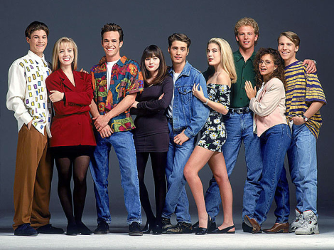 1990s fashion - Beverly Hills 90210