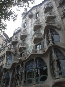 Casa Battlo in Barcelona, Spain.