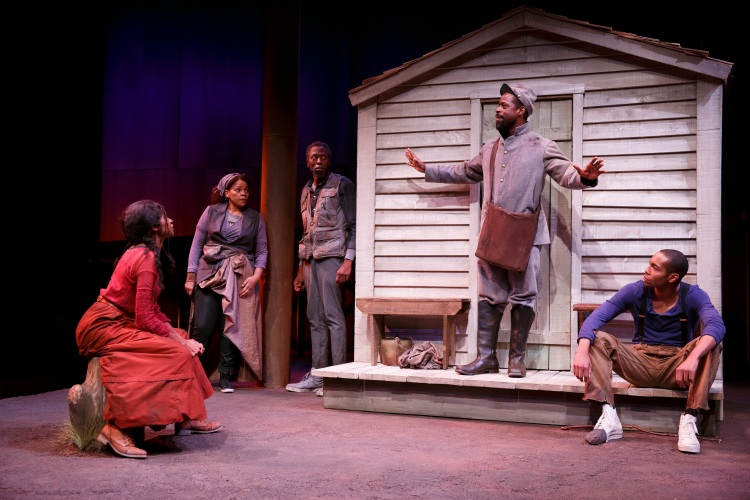 FATHER COMES HOME FROM THE WARS (PARTS 1, 2 & 3) Written by Suzan-Lori Parks Directed by Jo Bonney   Featuring Sterling K. Brown, Louis Cancelmi, Peter Jay Fernandez, Jeremie Harris, Russell G. Jones, Jenny Jules, Ken Marks, Jacob Ming-Trent, Tonye Patano, and Julian Rozzell Jr.