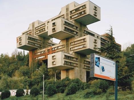 Roman Bezjak Sozialistische Moderne   Fotografien zur historischen Baukultur urbaner Landschaften Osteuropas # Tiflis- Georgien