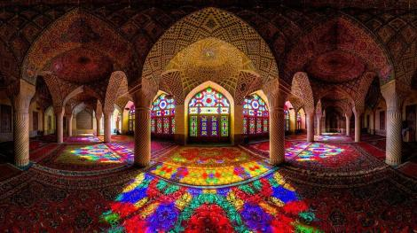 Image via http://muslimheritage.com/article/mosque-whirling-colours-mixture-architecture-and-art-nas%C4%ABr-al-mulk-mosque-shiraz-iran