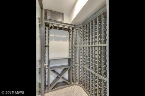 Wine cellar. -